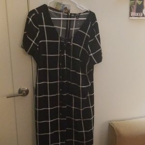 Torrid checker dress